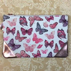 Ipsy Butterfly Cosmetic Bag